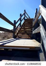 Wooden Stairway to the Sky - Hallett Cove Boardwalk Adelaide Australia March 2018
