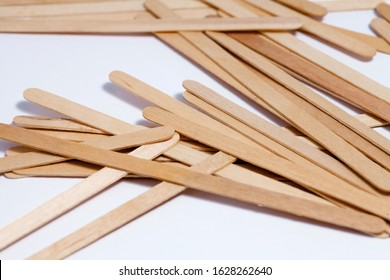 Wooden stick stirrers for coffee, tea and toothpick