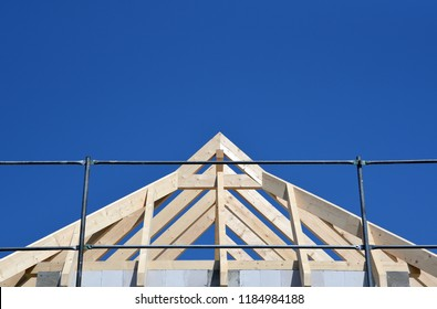 Wooden structure for a roof
