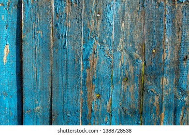 Wooden surface texture with bullet holes - background