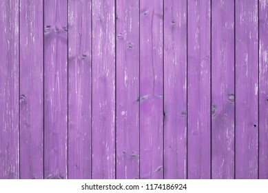 Wooden table, purple background, texture