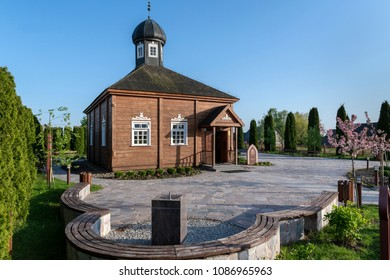 Wooden tatar-mosque from the 18th century (one of the two oldest in Poland) in Bohoniki Poland