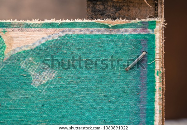 Wooden texture of a box of vegetables and fruits