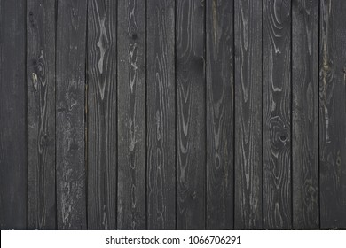 wooden texture of burnt black boards