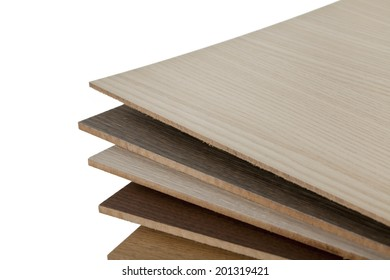 Wooden texture of different types of wood