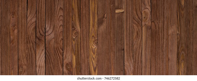 Wooden texture of the kitchen table, panoramic high-resolution background