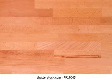 Wooden texture - sample of the light beech