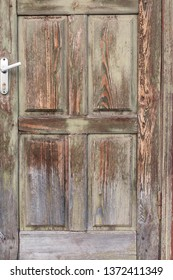 wooden textured aged surface, old vintage wooden door