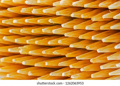 Wooden Toothpicks Close Up Background. A picture not clear. A Toothpick