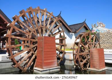 wooden turbine