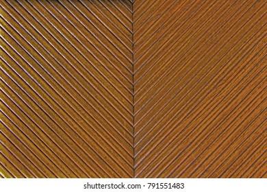 Wooden v shape