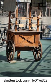 Wooden vehicle for trade
