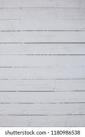 Wooden wall background painted white
