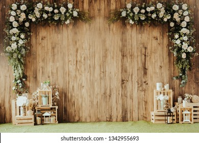 Wedding Invitation Empty Card Template Images Stock Photos Vectors Shutterstock