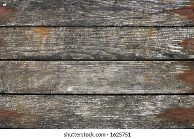 Wooden wall detail