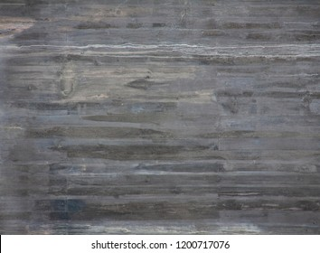 Wooden wall with horizontal planks. Close up of an old wooden fence panels