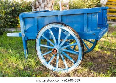wooden wheel for loader transport