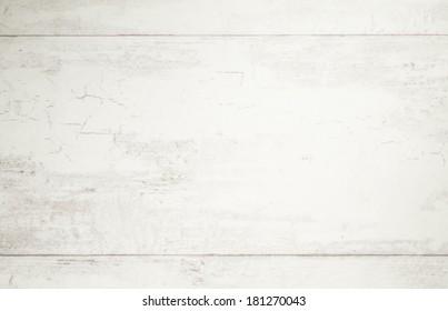 Wooden white background.
