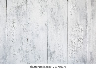 Wooden white cracked texture background