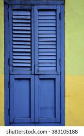 Wooden Window.