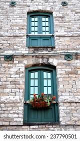 Wooden windows design