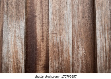wooden Wood plank with knots, pattern of natural old brown aged color background