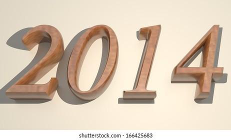 Wooden year 2014