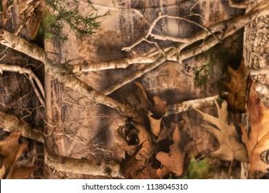 A Woodland Camouflage Pattern blur