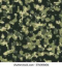 The woodland mosaic camouflage background