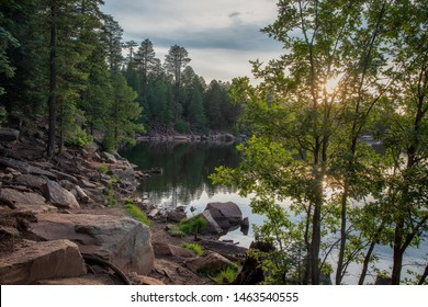 Woods Canyon Lake Mogollon Rim.
