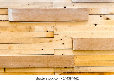 Woods pallet background