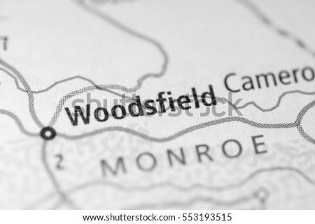 Woodsfield Ohio Map.Woodsfield Ohio Usa Stock Photo Edit Now 553193515 Shutterstock
