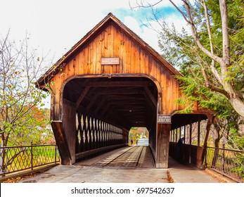 Woodstock Middle Bridge South Portal - Woodstock, VT