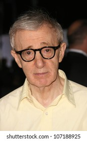 """Woody Allen  at the Los Angeles Premiere of """"Vicky Cristina Barcelona"""". Mann Village Theatre, Westwood, CA. 08-04-08"""