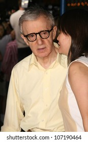 "Woody Allen and Soon Yi Previn  at the Los Angeles Premiere of ""Vicky Cristina Barcelona"". Mann Village Theatre, Westwood, CA. 08-04-08"