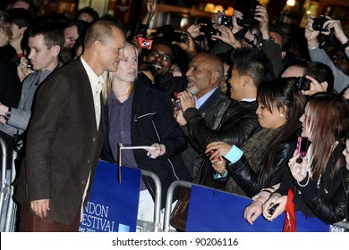 "Woody Harrelson arriving for the premiere of ""Rampart"", as part of the London Film Festival 2011, at the Vue West End, London. 15/10/2011 Picture by: Steve Vas / Featureflash"