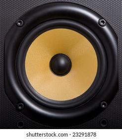 woofer of loudspeaker made of kevlar