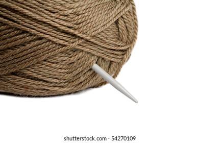 Wool thread