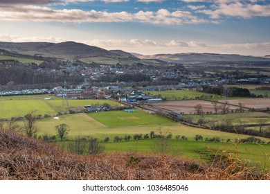 Wooler Town in Foothills of the Cheviots,   a small market town in Northumberland, England and lies at the edge of Northumberland National Park