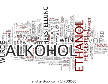 Word cloud - alcohol