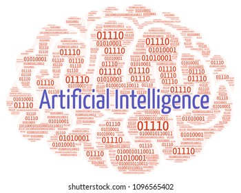 Word cloud: artificial intelligence