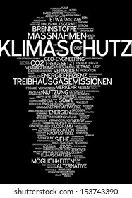 Word cloud - climate
