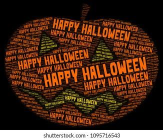Word cloud: Happy Halloween