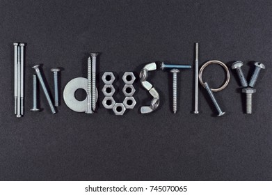 Word formed with tools and accessories for your industry projects or tool publications.