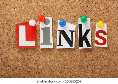 Image result for free pic of the word Important Links