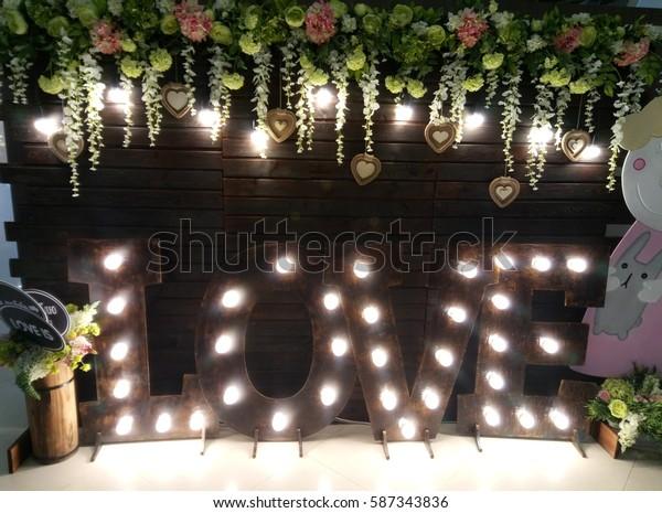 the word love light