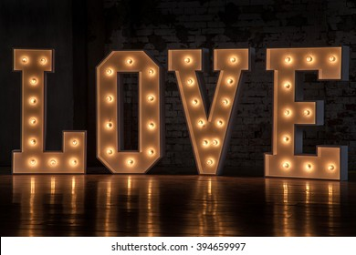 The word love, Valentine Day