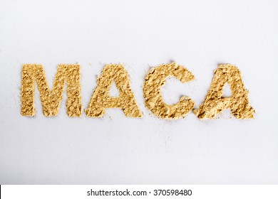 Word maca piled of 