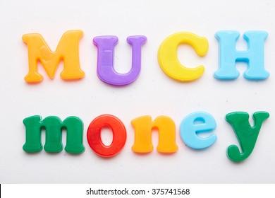 """the word """"money"""""""