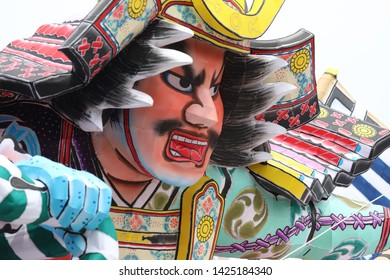 The word nebuta means lantern float. The Aomori Nebuta Festival is said to have its origins in the Tanabata Festival Toro Nagashi (river lantern floating) event. 22 large-scale nebuta floats are joine